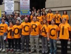 Democracia. Fotografía de Gustavo Becerra