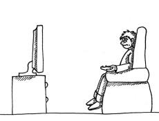 Ley de TV Ilustracion de Felipe Tapia