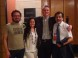 Lanzamiento libro Tolo Nei en FILSA 2013 - Foto junto a algunos amigos de Sitiocero