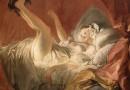 Jean-Honoré Fragonar; Jeune femme jouant avec le petit chien, 1772.