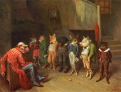 Reglas de la Escuela William Holbrook Beard 1825-1900