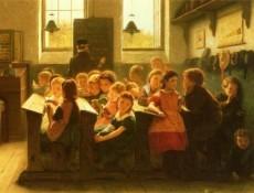 Cuando el profesor se da vuelta Jacob Taanman 1826 1923