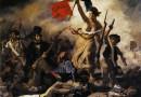 La libertad guiando al pueblo de Eugene Delacroix