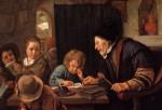 Jan Steen The Severe Teacher 1626 1679