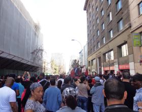Marcha por amnistía migratoria del 17 de agosto 2014