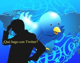 ¿Qué hago con Twiter? Imagen De Mauricio Tolosa. Agradecimientos a Geralt