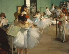 La clase de danza. Edgar Degas