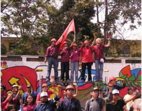9 de marzo de 2005, en el funeral de Gladys Marín - Fotografía de Sergio Arévalo