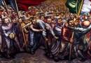 """Del Porfiriato a la Revolución"" de David Alfaro Siqueiros"