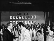 Primera Teletón. Gentileza Archivo La Nación