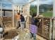 Trabajo comunitario - Construcción con reciclaje en Mingakegre de Coyhaique