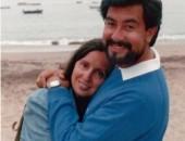 Ricardo y Paulina (y Valentina), Bahía Inglesa, Febrero de 1988