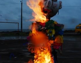 Quema de Cuco - fotografía Pamela Albarracín