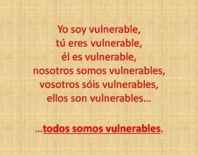 Yo soy vulnerable
