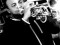 Arnaudy López trompetista del Café Journal, fotografía de Fesal Chain