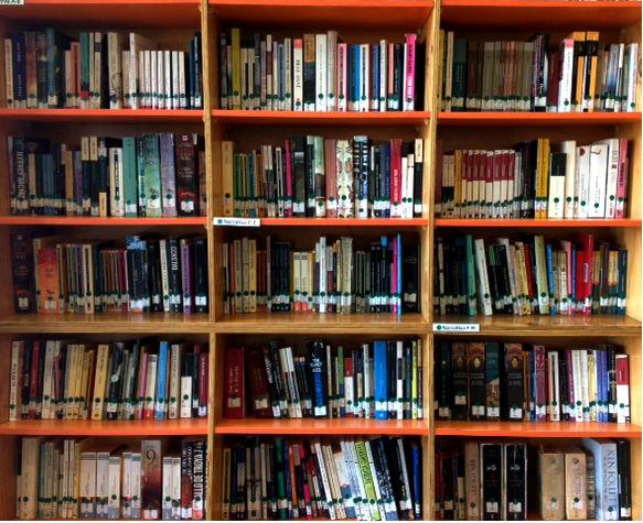 Estanterias de libros estanteras de pared metlicas de - Estantes para libros ...