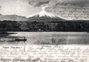 Postal del lago Villarrica