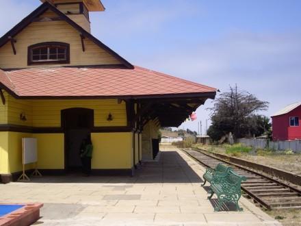 Estación de tren de Cartagena. Fotografía de Pilar Clemente.