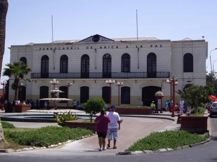 Estación de tren Arica. Fotografía de Pilar Clemente