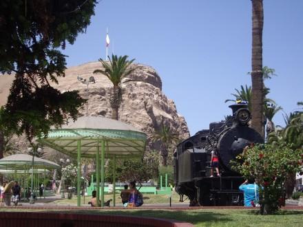 Locomotora tren Arica - La Paz Fotografía de Pilar Clemente