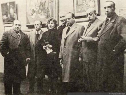 grupo Montparnasse - 1945 - memoria chilena
