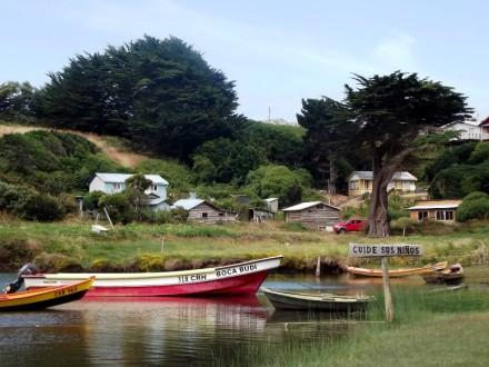 Boca del Lago Budi Fotografía de Sandra Rojas