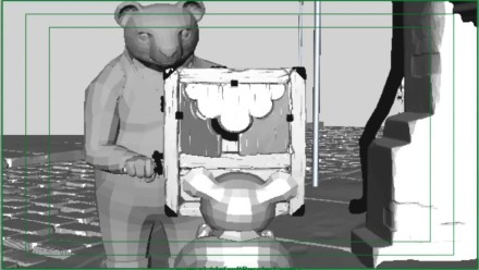 Making of Bear Story 1 Gentileza de Punkrobot