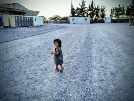 Fotografía Campo refugiados en Salónica 2 Cortesía de MAM Beyond borders