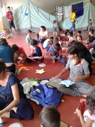 Fotografía Campo refugiados en Salónica 4 Cortesía de MAM Beyond borders