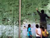 Fotografía Campo refugiados en Salónica Cortesía de MAM Beyond borders