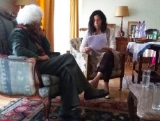 Lectura a Susana Bloch - Fotografía de Mauricio Tolosa