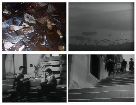 "Fotogramas de Joris Yvens en su Documental ""A Valparaíso"" (1965)"