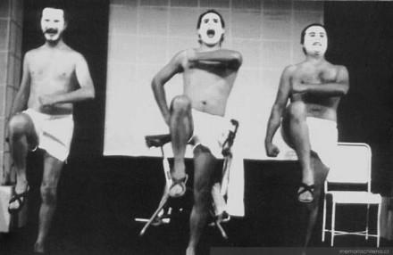 """Imagen de la obra """"Baño a Baño"""", de la Facultad de Medicina Norte, 1978"""