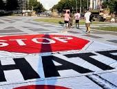Stop-hate - Fotografía de Victoria Pickering