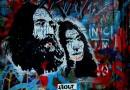 John y Yoko en un muro de Praga Fotografía de Mauricio Tolosa.