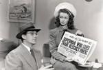 Los periodistas Clark Kent y Luisa Lane