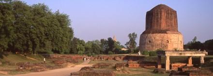 Sarnath. Fotografía de Mauricio Tolosa. 1994