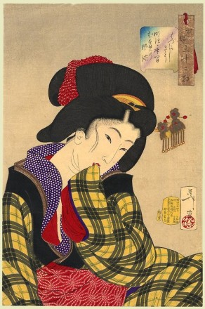 Yoshitoshi, Tímida, 1888