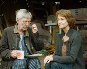 """Tom Courtenay y Charlotte Rampling en """"45 años"""""""