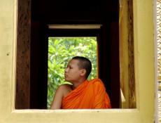 Estructuras del monje. Tailandia, 2006. Fotografía de Mauricio Tolosa.