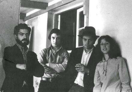 Juan José Cabezón-Puig, Alvaro Ruiz,Teodoro Cassua, Teresa Calderon. 1978