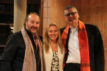 Theodoro Elssaca, Pauline Le Roy, Mauricio Tolosa