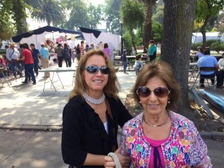 Beatriz y Pilar en Casablanca